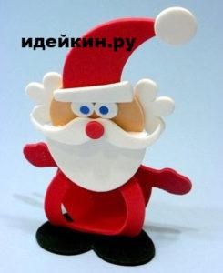 Дед Мороз из фоамирана шаблон