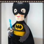 Игровая текстильная кукла Бэтмен