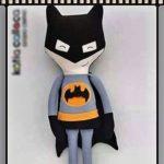 Текстильная кукла Бэтмен выкройка