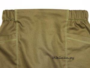 Как быстро сшить прямую юбку без выкройки