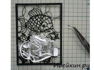 Вытынанки из бумаги шаблоны для вырезания