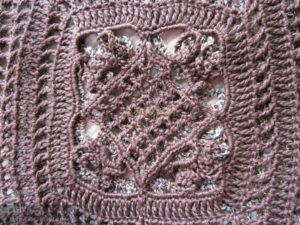 Вязание туник крючком в стиле бохо схемы