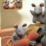 Мышка своими руками из ткани