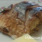 Как приготовить рыбу горячего «копчения» в фольге в духовке своими руками