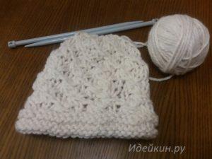 Вязание из толстой пряжи спицами