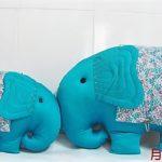 Декоративная подушка слон выкройка