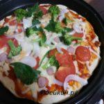 Пицца на сковороде пошаговый рецепт