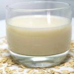 Овсяное молоко в домашних условиях