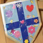 Как сделать картонный щит для маленького рыцаря