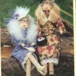 Кукла тильда своими руками для начинающих выкройки «стильные бабульки»