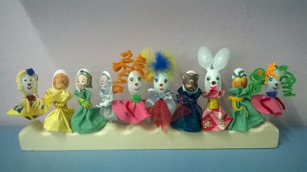 Кукольный театр из ложек своими руками 42