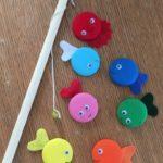 Игра рыбалка своими руками из фетра