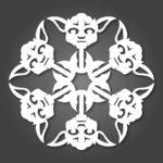 Шаблоны для вырезания снежинок из бумаги