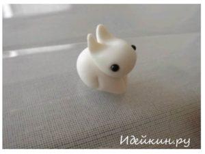 Мини – кролик - украшение для Пасхи