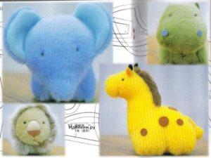 Мягкие игрушки из ткани