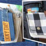Съемный навесной карман. Как сделать своими руками