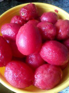 Малосольные помидоры за несколько часов