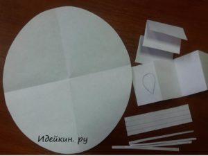 Простые мышки из бумажного конуса