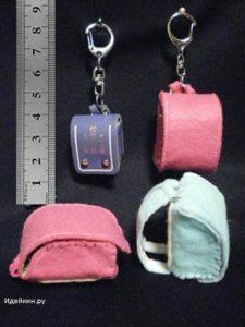 Миниатюрный рюкзак из фетра