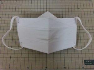 Одноразовая маска из бумаги формата А4 с фильтром