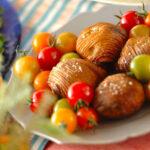 Картофель хассель или картошка-гармошка с пряной солью