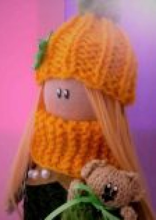 Интерьерная кукла Катюша